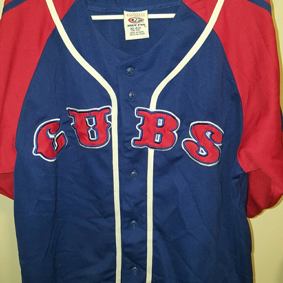 wholesale dealer 8b644 1b7eb Rare - XL Authentic Chicago Cubs alternate jersey
